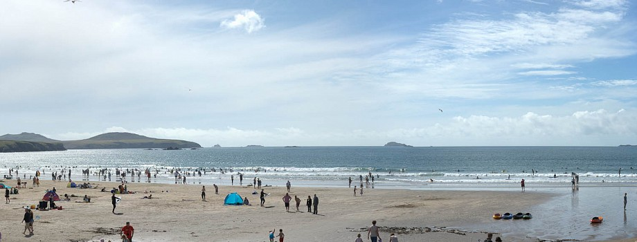 Whitesands Bay, Pembrokeshire – Panorama