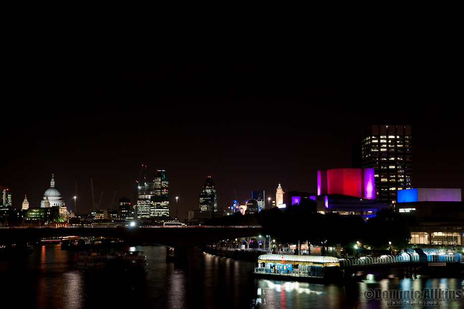 The South Bank Centre and The City