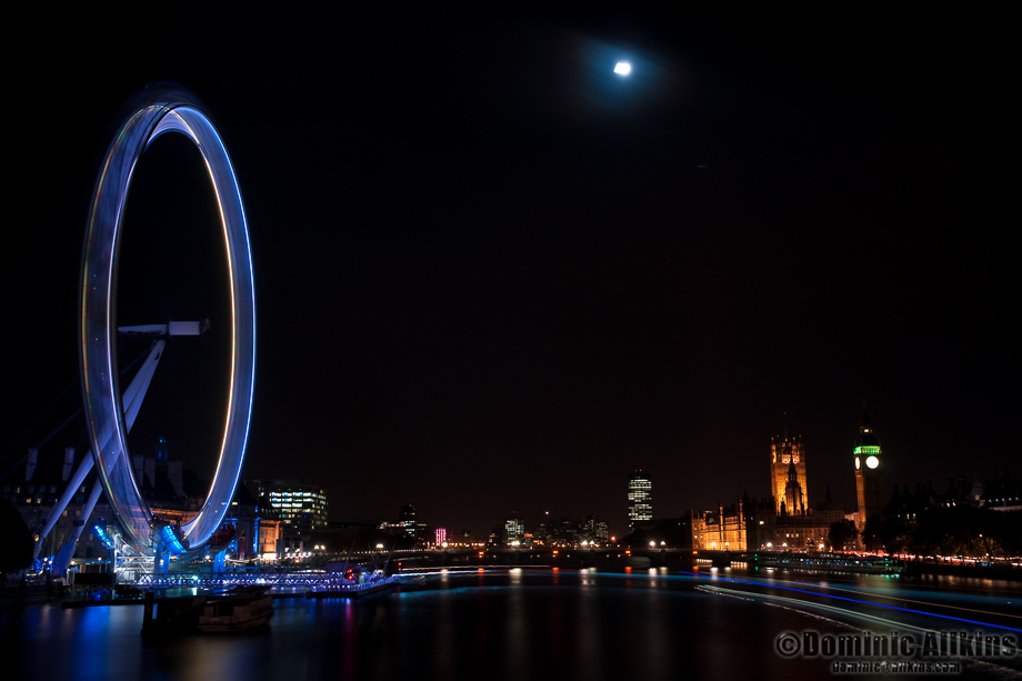 11.4a: The London Eye and Houses of Parliament
