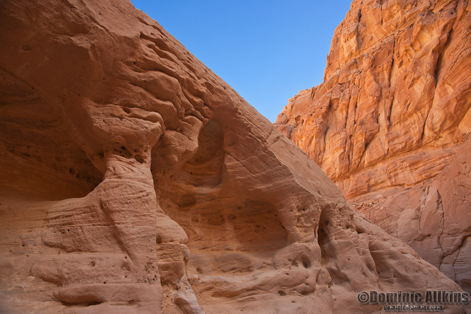 11.3a: Inside the Coloured Canyon in Egypt