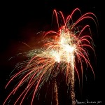 Fireworks Night - 2010 - Shot on a Canon EOS 5D Mark II at ISO200, f/11, 3 sec at 85mm